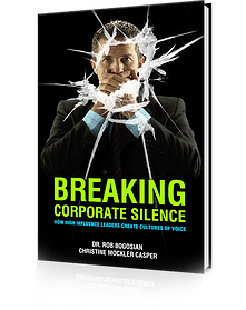 Breaking Corporate Silence by Dr. Rob Bogosian